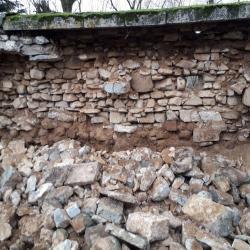 Mur effondré