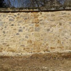 Mur réparé
